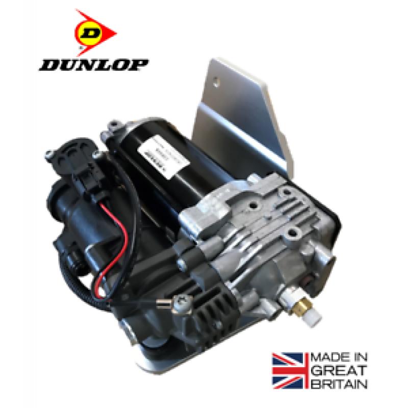Компрессор Dunlop для пневматической подвески Land Rover Discovery 4